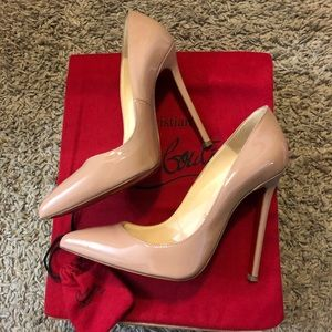LAST CHANCE: Christian Louboutin Pigalle 120